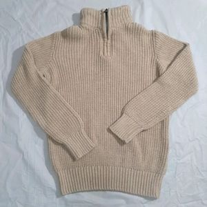 CHILDREN'S PLACE SIZE SMALL 5/6 ZIP UP SWEATER EUC